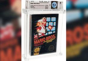 未开封的《超级马里奥兄弟》卖出了114,000美元