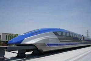 中国600公里每小时的磁悬浮将在年底下线