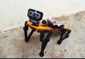 3D打印的小猎豹机器人