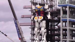 日本工程师建造了18米的高达,建成后可以行走