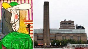 英国男子为出名毁坏1.8亿元毕加索名画,被判刑18个月