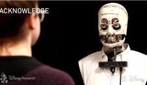 迪士尼在研究怎么让机器人的眼神交流更真实