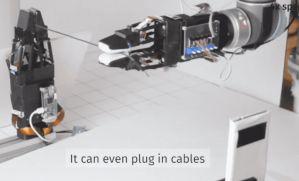 麻省理工学院发明了一种手感柔软的机械手,最终实现打结和缝合