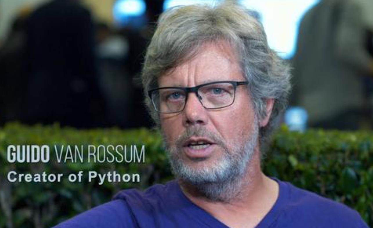python之父Guido van Rossum 加盟微软